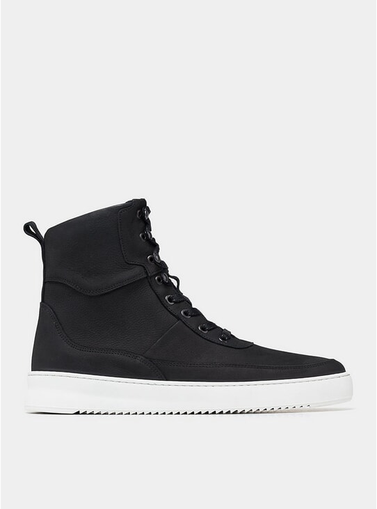 Black / White Ripple Andes Evora Classic Boots