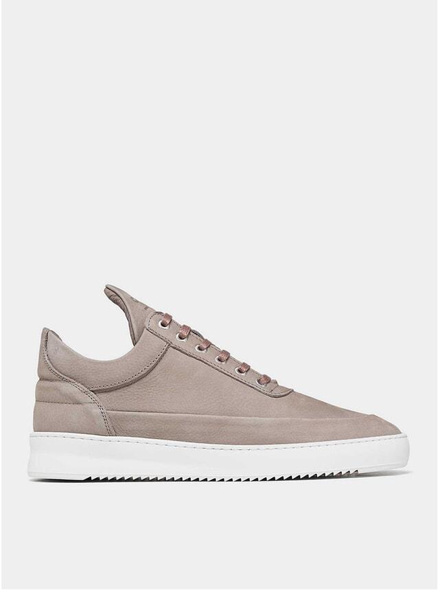 Cairos Grey Low Top Ripple Sneakers