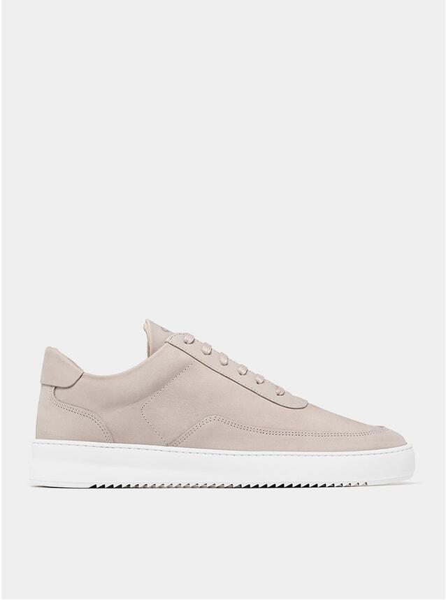 Cement Grey Low Mondo Ripple Nardo Sneakers