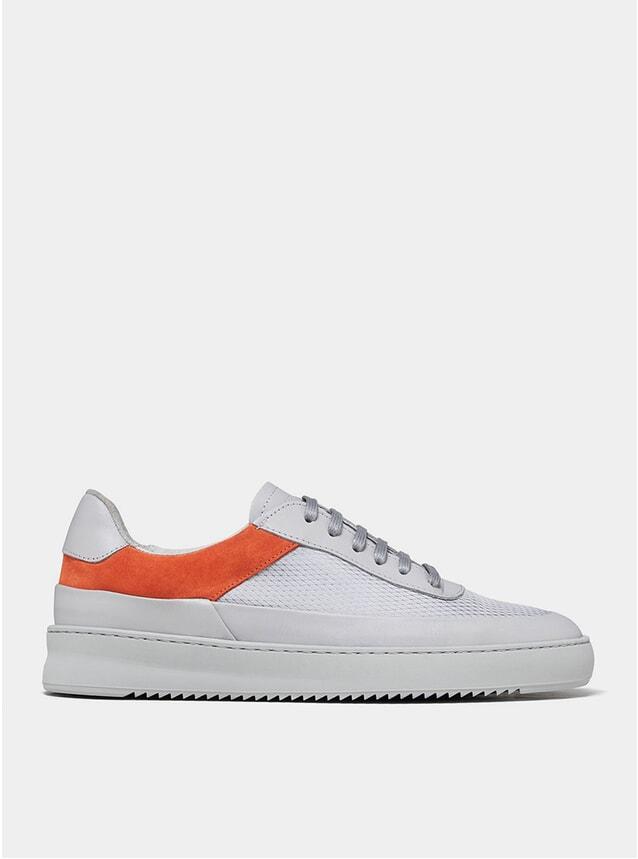 Grey Mono Ripple Shift Sneakers