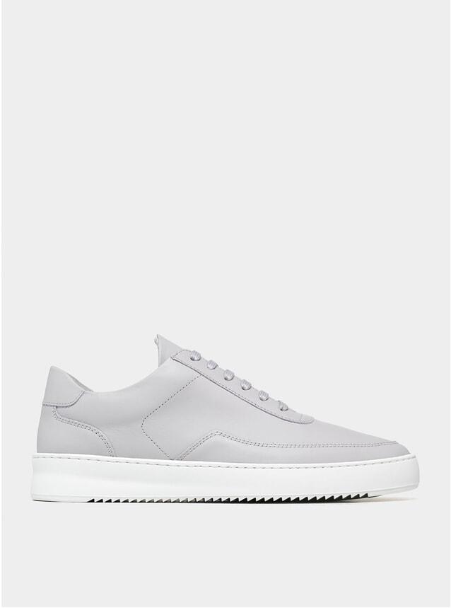 Grey Nappa Low Mondo Ripple Sneakers