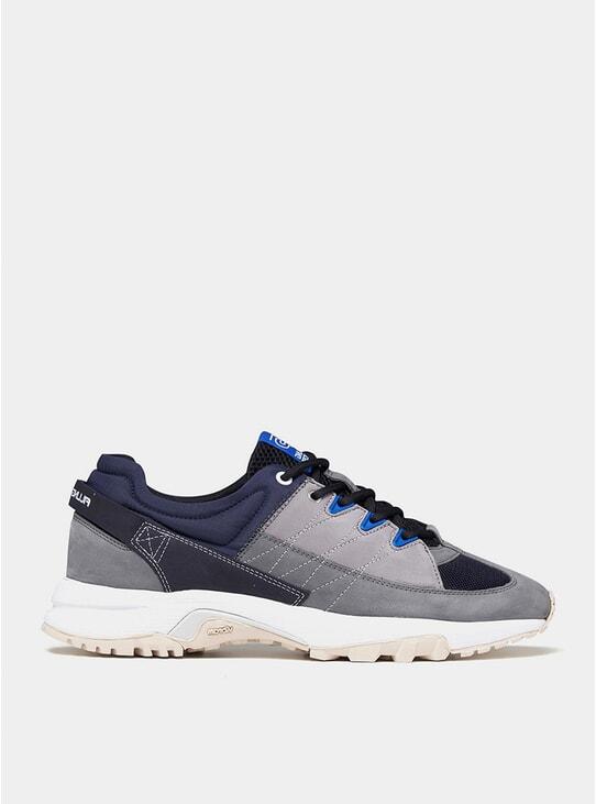 Navy Blue Pyro Tweek Sneakers