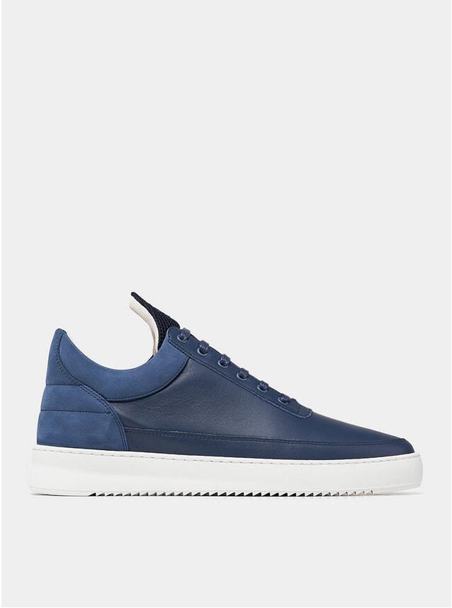 Navy Low Top Ripple Linus Sneakers