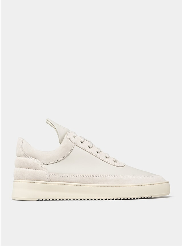 Off White Low Top Ripple Ejura Sneakers