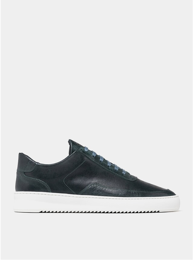 Wash Green Low Mondo Ripple Sneakers