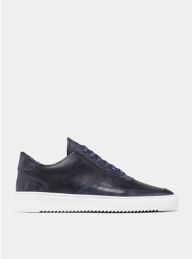 Wash Navy Low Mondo Ripple Sneakers