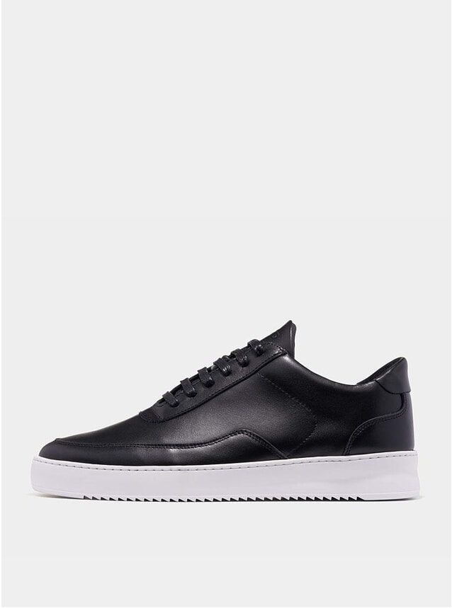 Black Low Mondo Ripple Nardo Sneakers