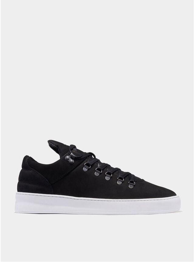 Black Mountain Cut Plain Basic Sneakers