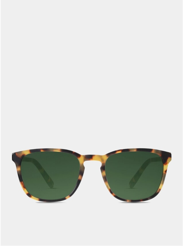 Light Tortoise Bowery Sunglasses