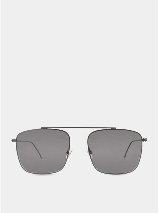 Black / Grey-White Parker Sunglasses