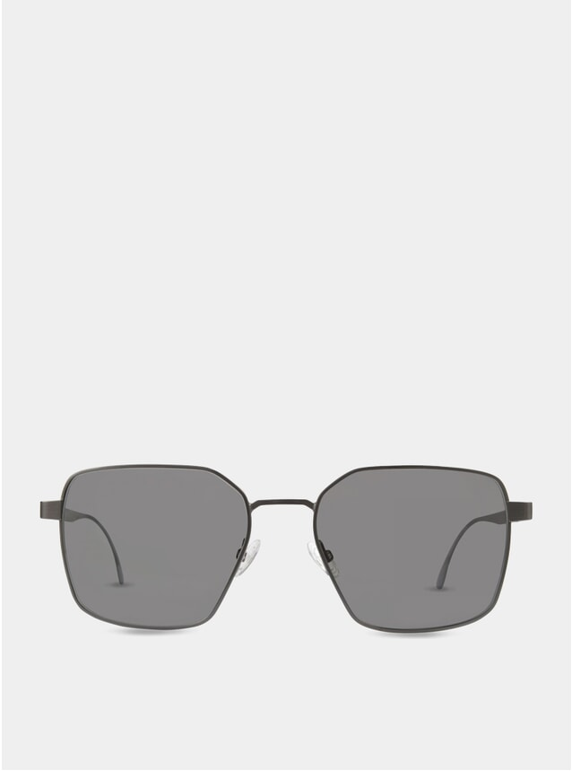 PRE ORDER Black / Grey Hamilton Sunglasses