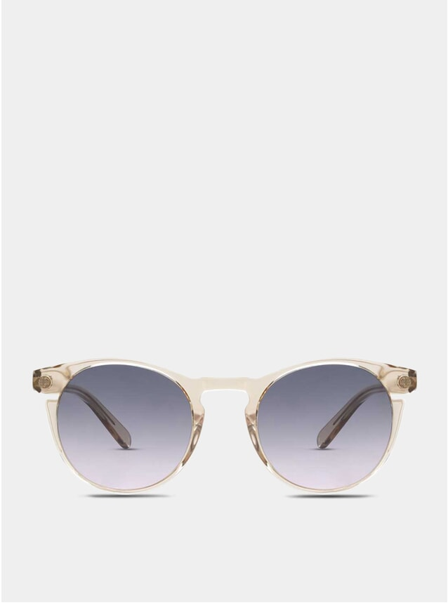 Champagne / Grey-Pink Percy Sunglasses