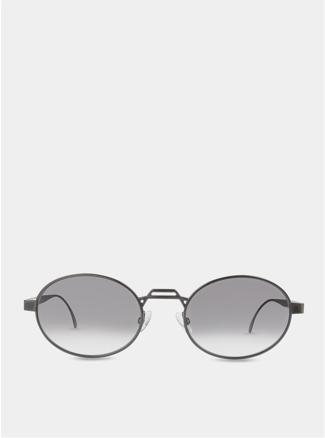 Charcoal / Grey-White Nelson Sunglasses