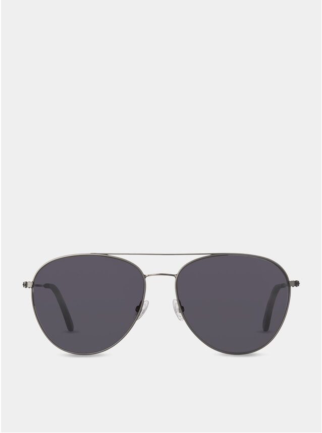 Charcoal / Grey Taplow Sunglasses