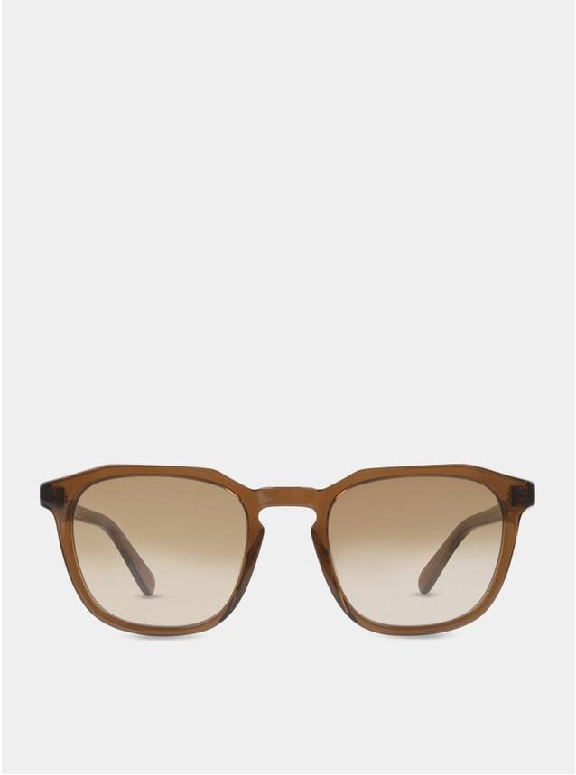 Dark Rum / Brown-White Marshall Sunglasses