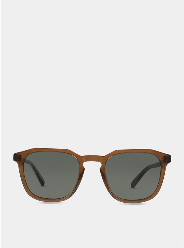 Dark Rum / Green Marshall Sunglasses