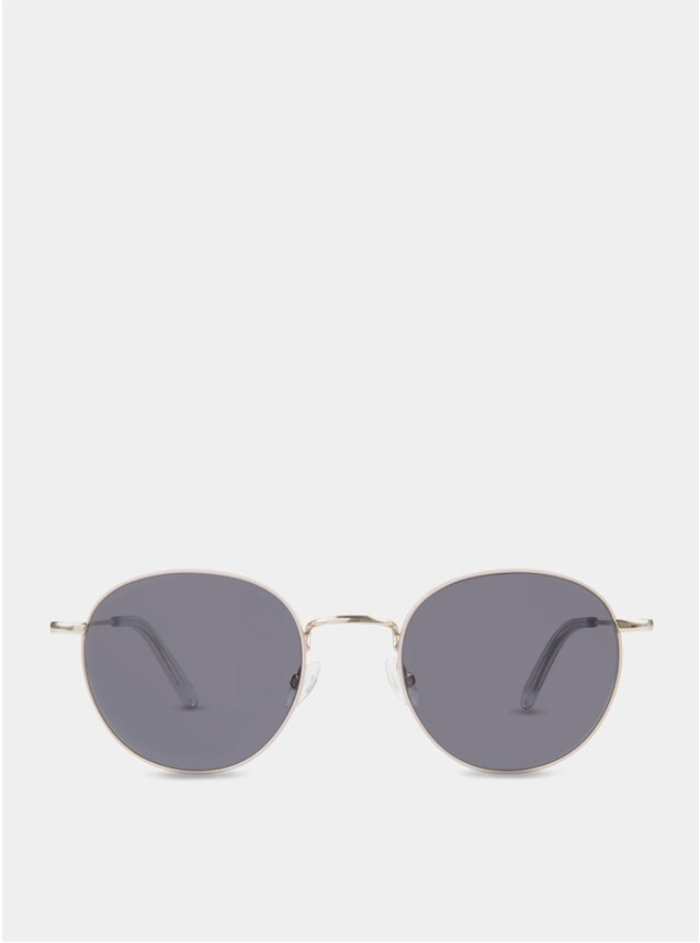 Dusty Pink / Grey Oswald Sunglasses