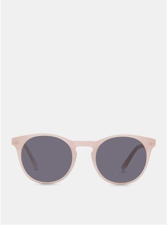 Frosted Rose / Grey Percy Sunglasses