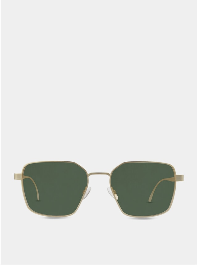 PRE-ORDER Gold / Green Hamilton Sunglasses