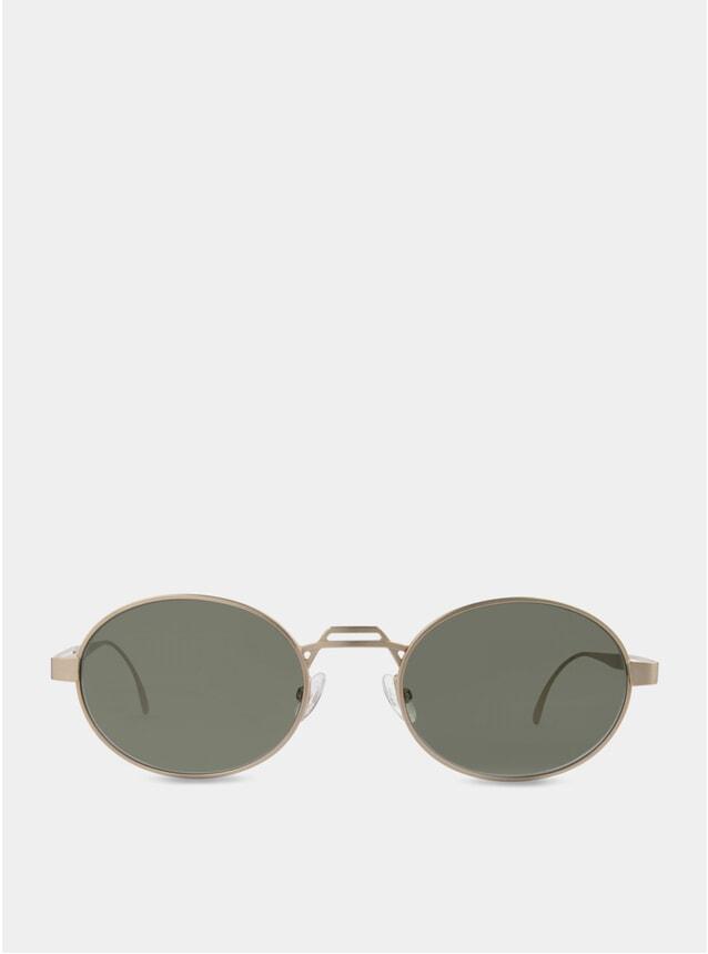 Gold / Green Nelson Sunglasses