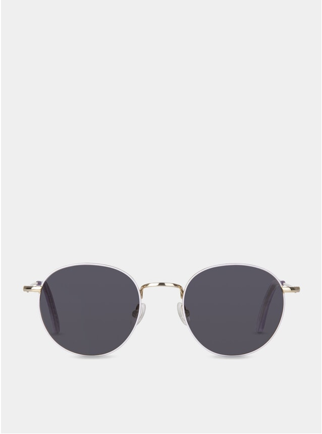 Lavender / Grey Oswald Sunglasses
