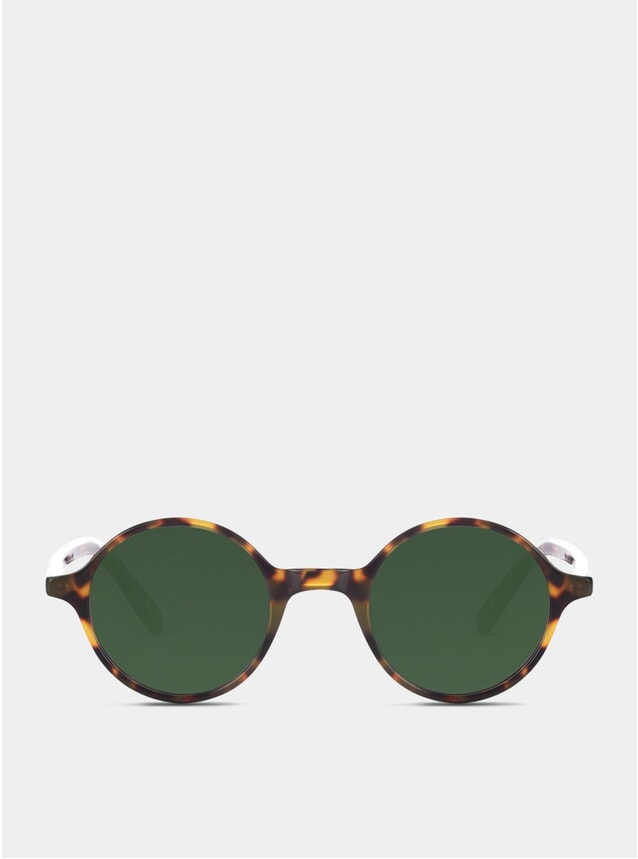 Light Tortoise / Green Onslow Sunglasses