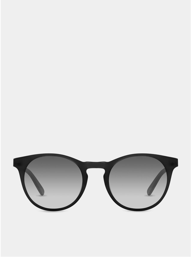 PRE-ORDER Matte Black / Grey-White Percy Sunglasses