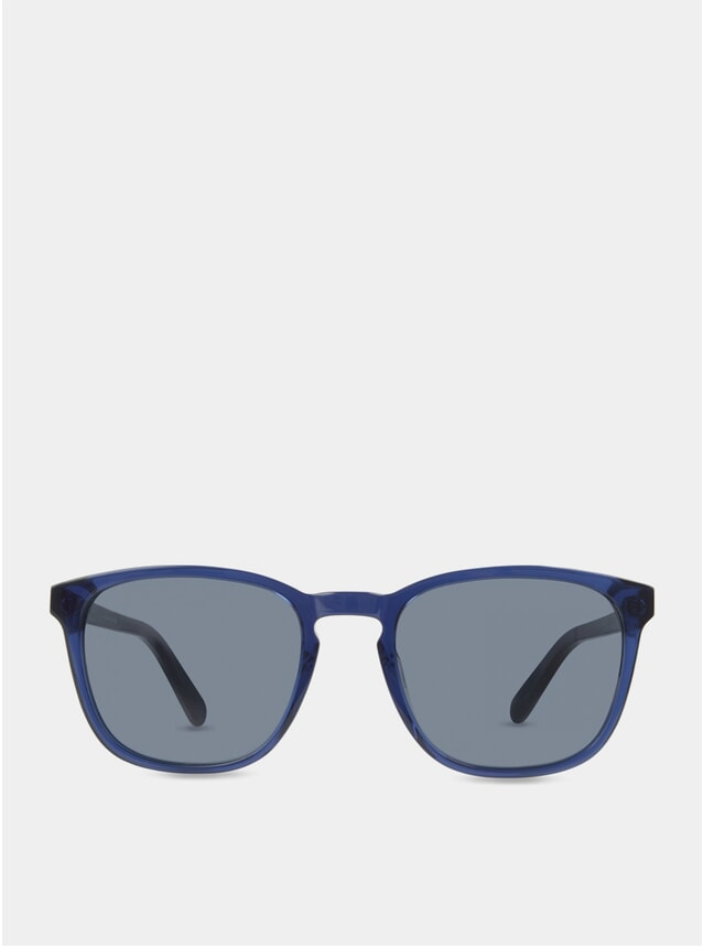 Ocean / Blue Bowery Sunglasses