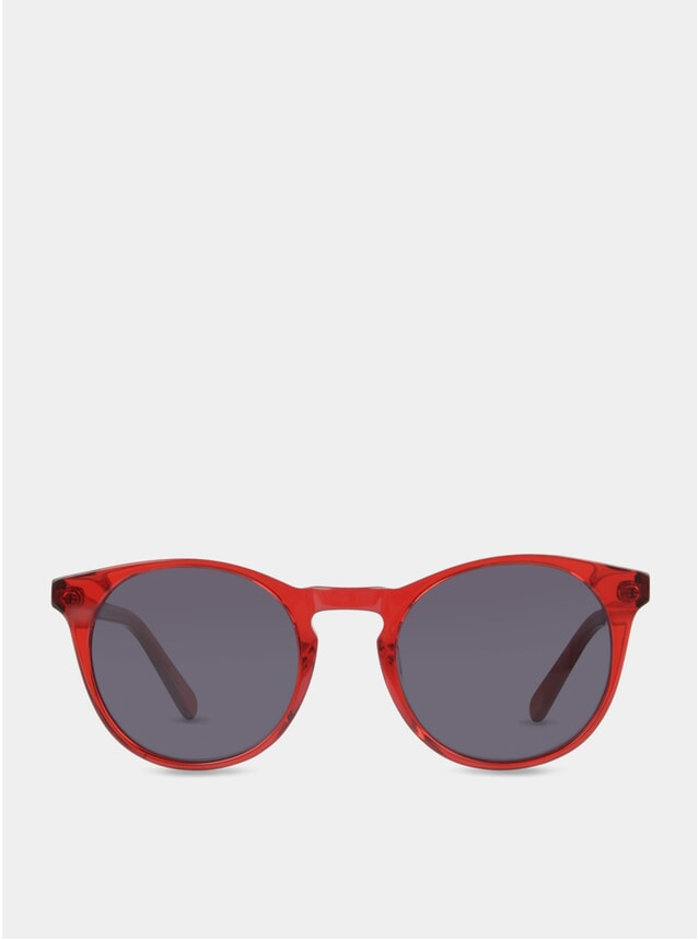 Ruby / Grey Percy Sunglasses