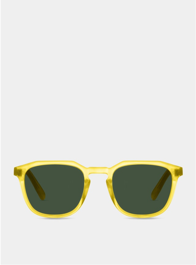 Sherbert Lemon / Green Marshall Sunglasses