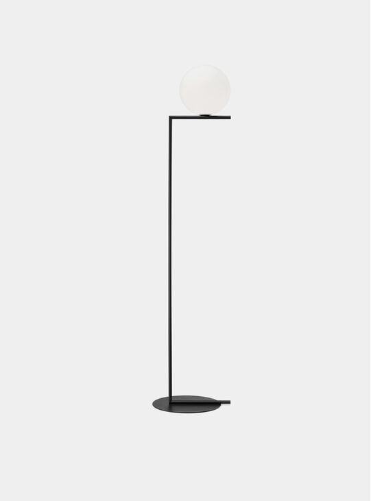 Black IC Floor Lamp