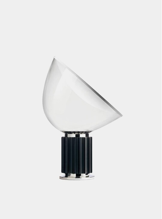 Black Taccia Small Table Lamp