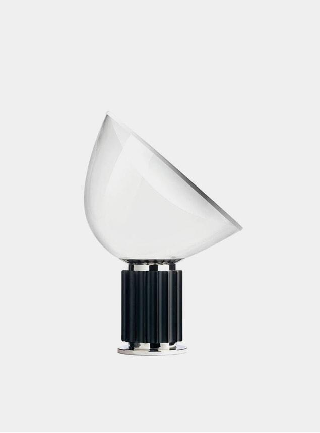 Black Taccia Small Table Lamp
