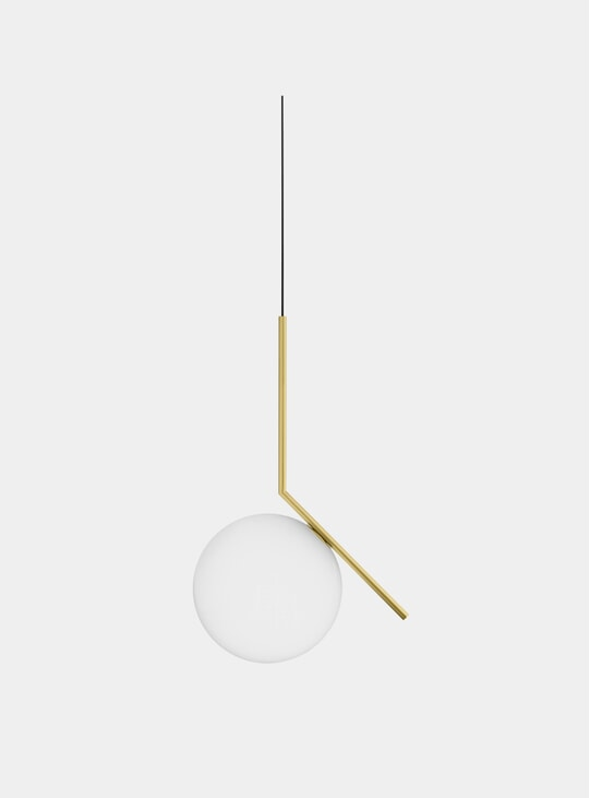 Brass IC Pendant Light