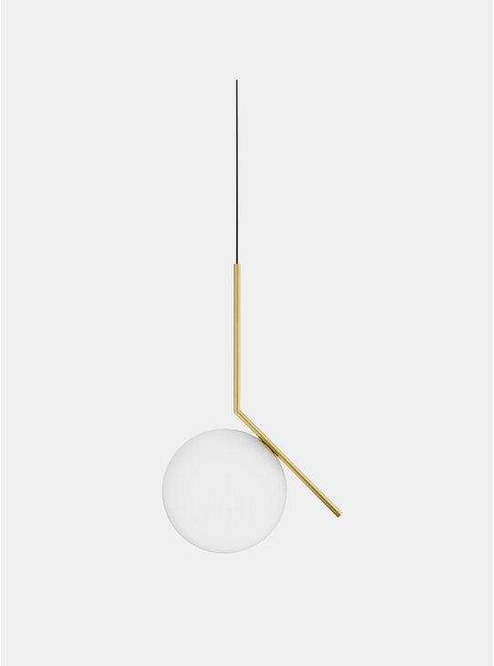 Brass IC Pendant Light