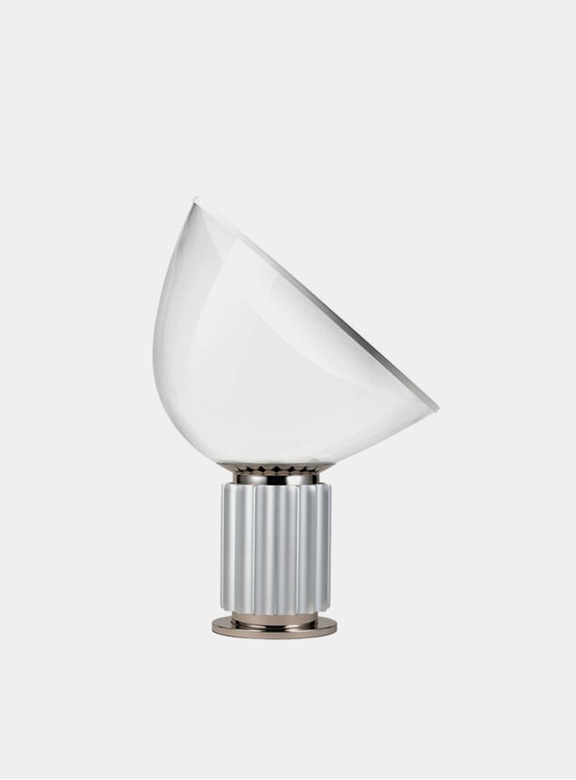 Silver Taccia Small Table Lamp