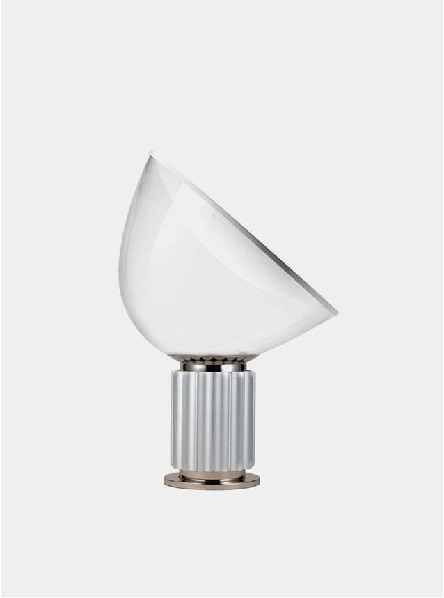Silver Taccia Small Table Lamp