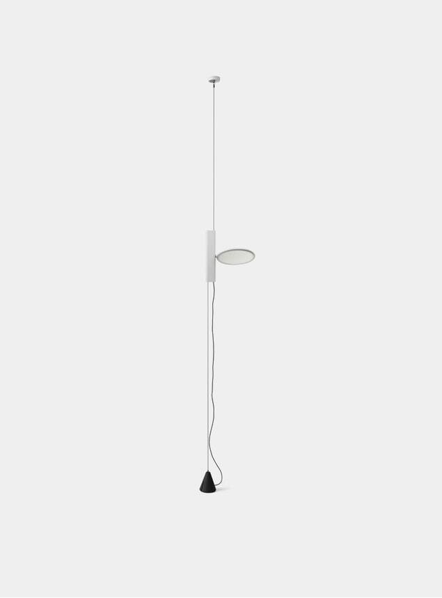 White OK Pendant Light