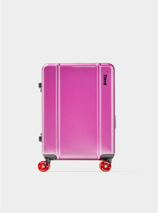 Magic Purple Cabin Suitcase