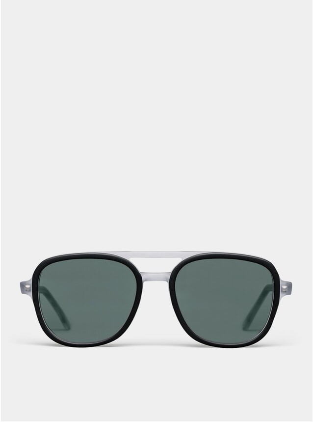 Black / Crystal Matte Wiser Sunglasses