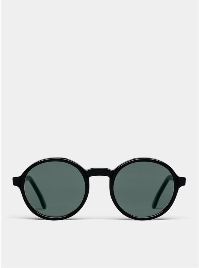 Black Rounder Sunglasses