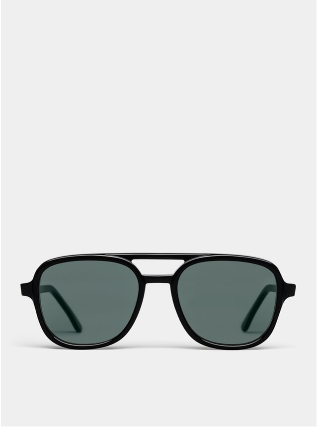 Black Wiser Sunglasses