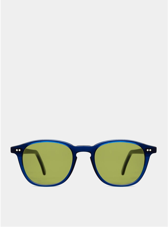 Dark Blue Hero Sunglasses