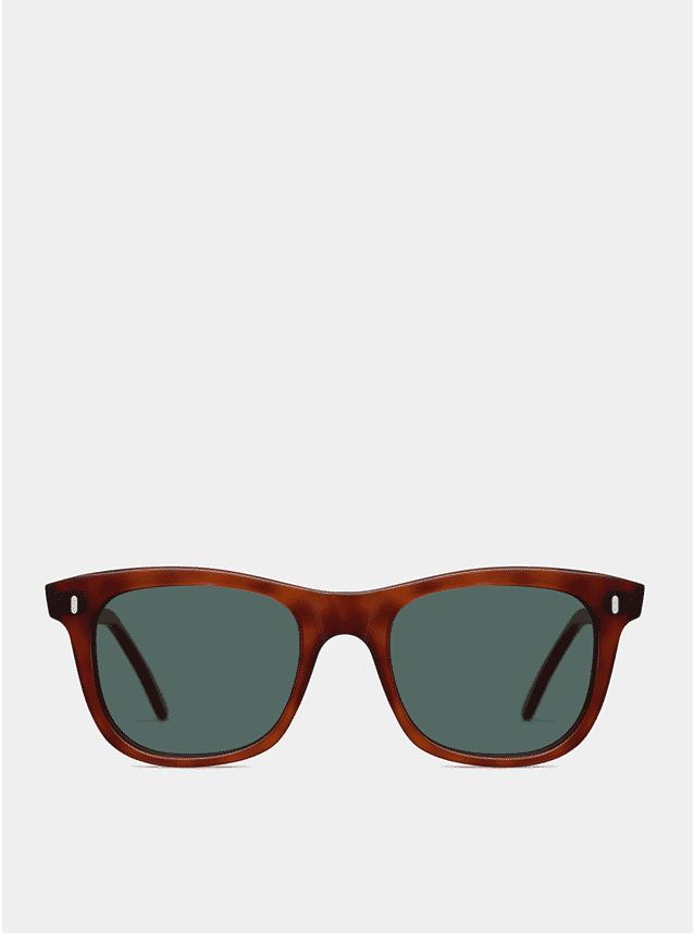 Dark Brown Matte Coper Sunglasses