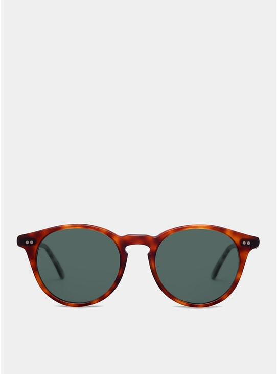 Dark Brown Matte Goldlover Sunglasses