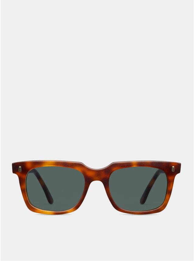 Dark Brown Matte Rocker Sunglasses