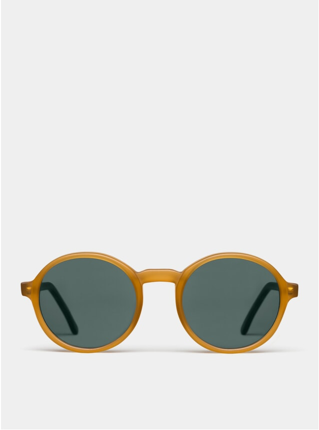 Mel Matte Rounder Sunglasses