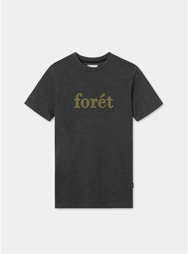 Ash / Olive Log T Shirt