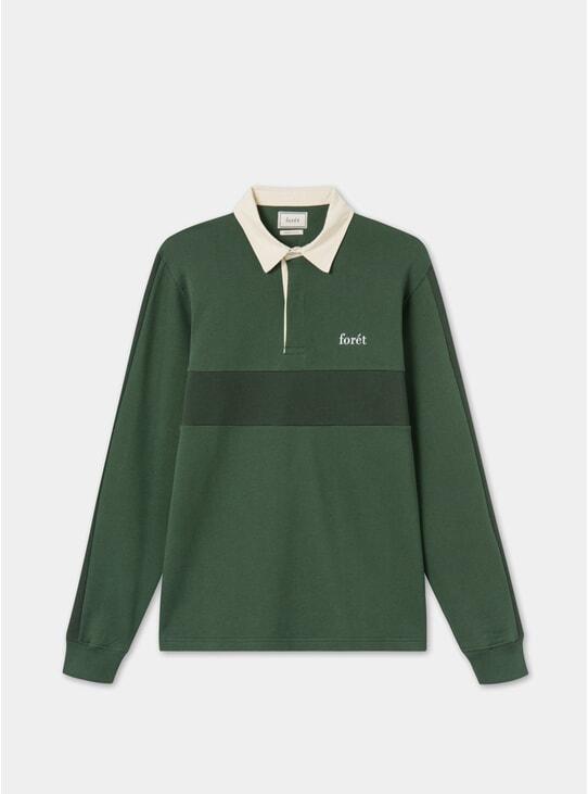 Dark Green Valley Rugby Shirt