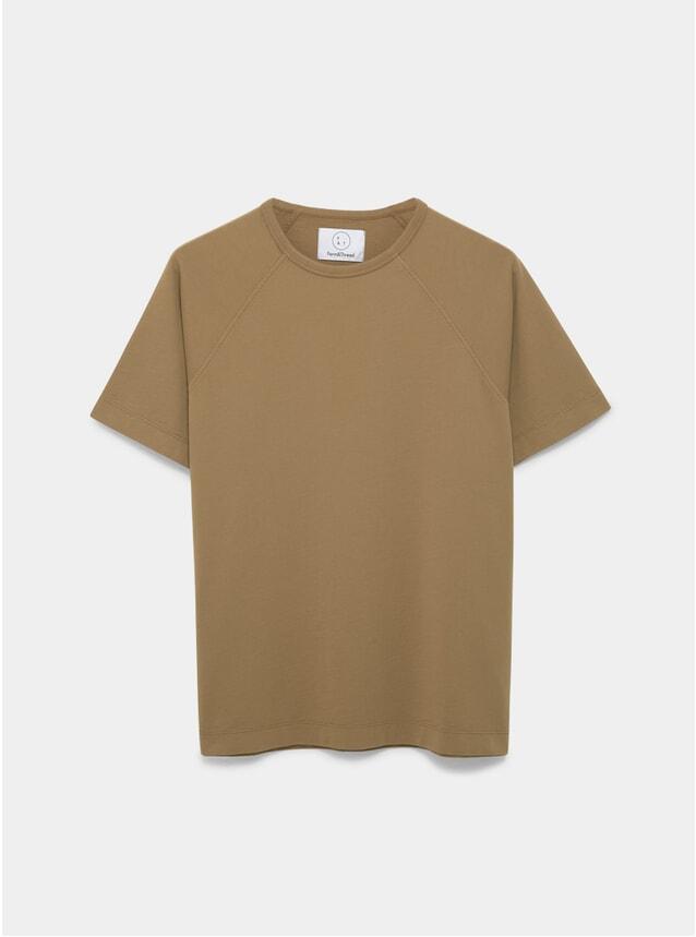 Caramel Raglan T Shirt